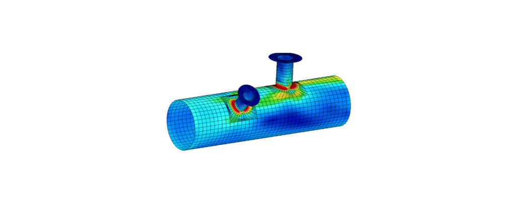 FEA - Pressure Vessel Design - Finite Element Analysis