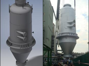 Pressure Vessel Design - Vent Separator