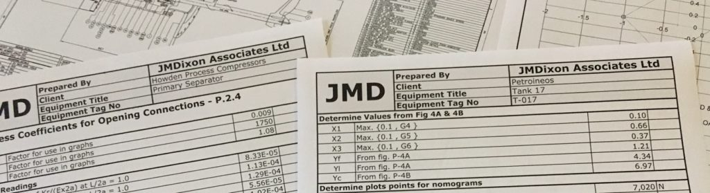 Mechanical Design Calculations - JM Dixon Associates Ltd, UK
